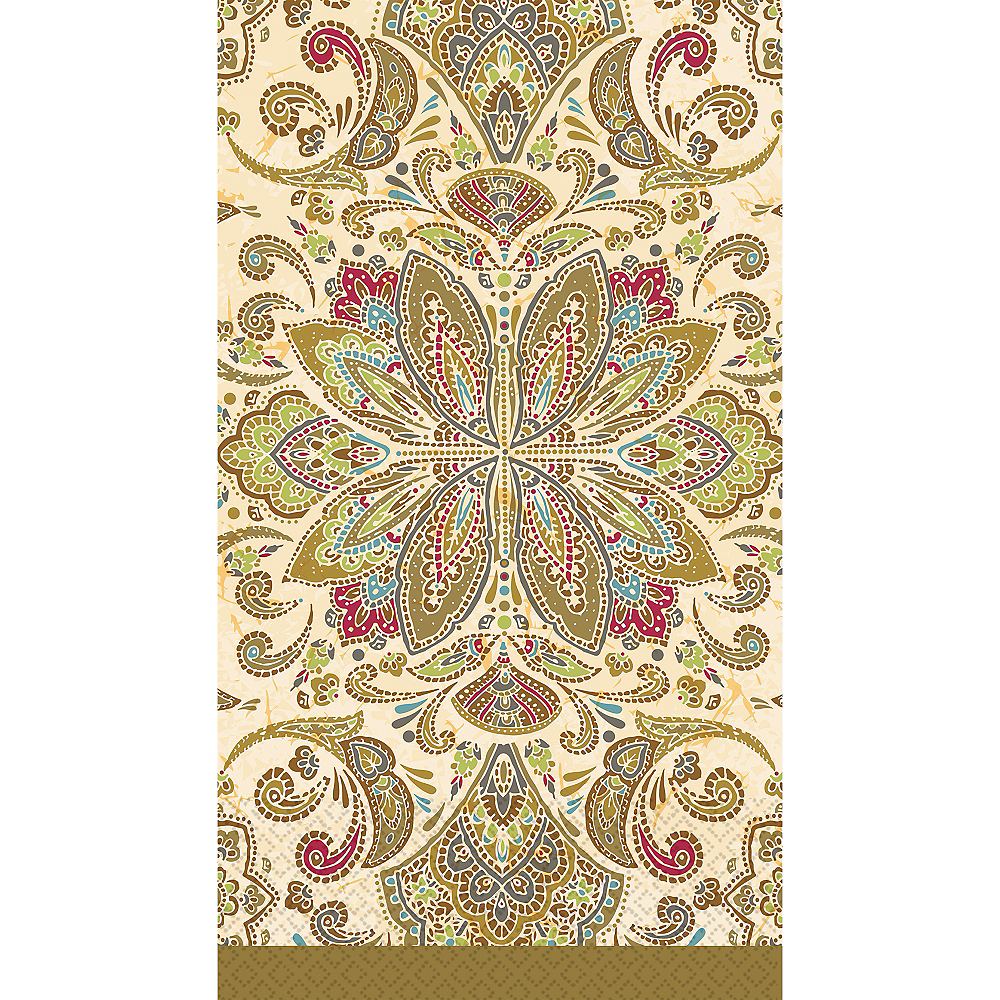 Textured Paisley Guest Towels 16ct Image #1