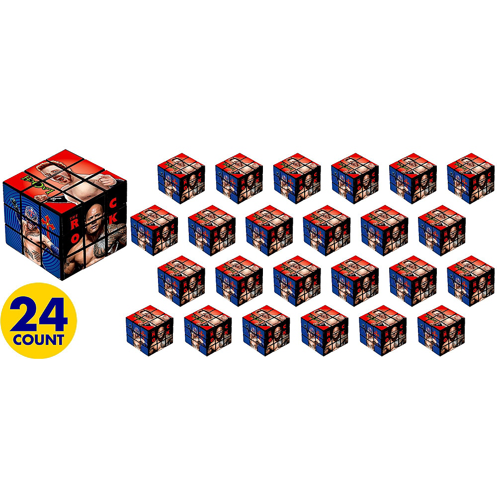 WWE Puzzle Cubes 24ct Image #2