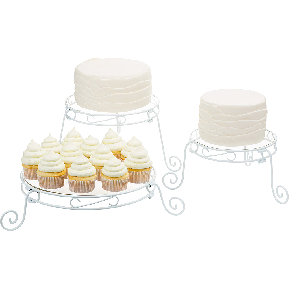 Adjustable Cake Stand Set   Party City