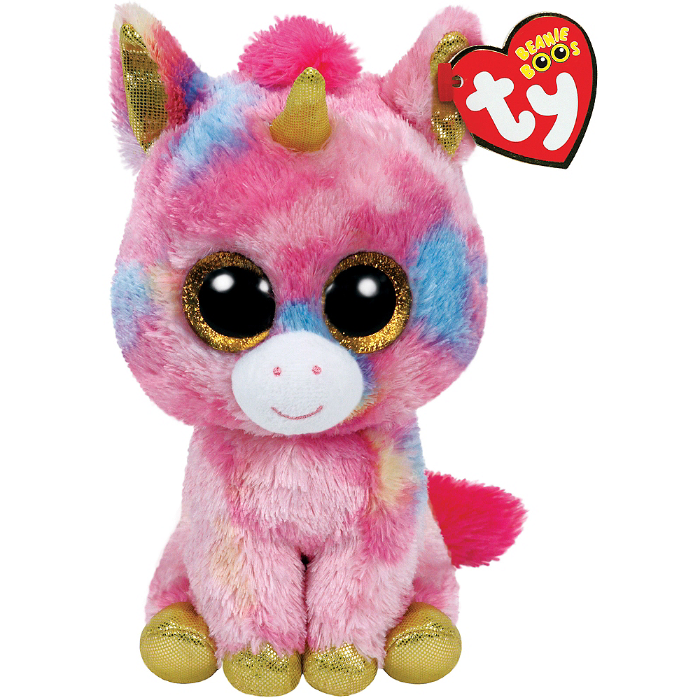 Fantasia Beanie Boo Unicorn Plush 3 1 2in x 6in  f126c032c