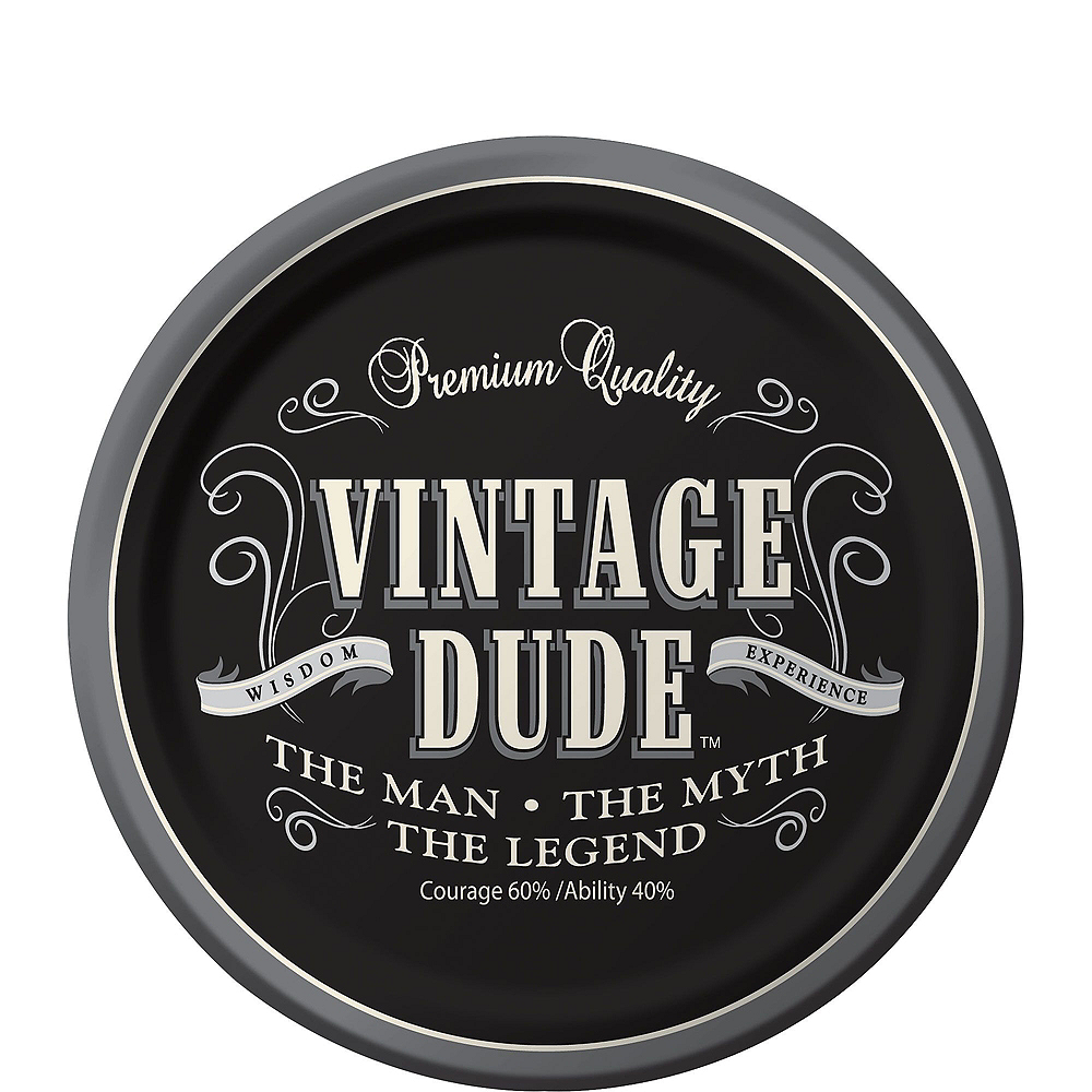 Vintage Dude Party Kit for 32 Guests Image #2