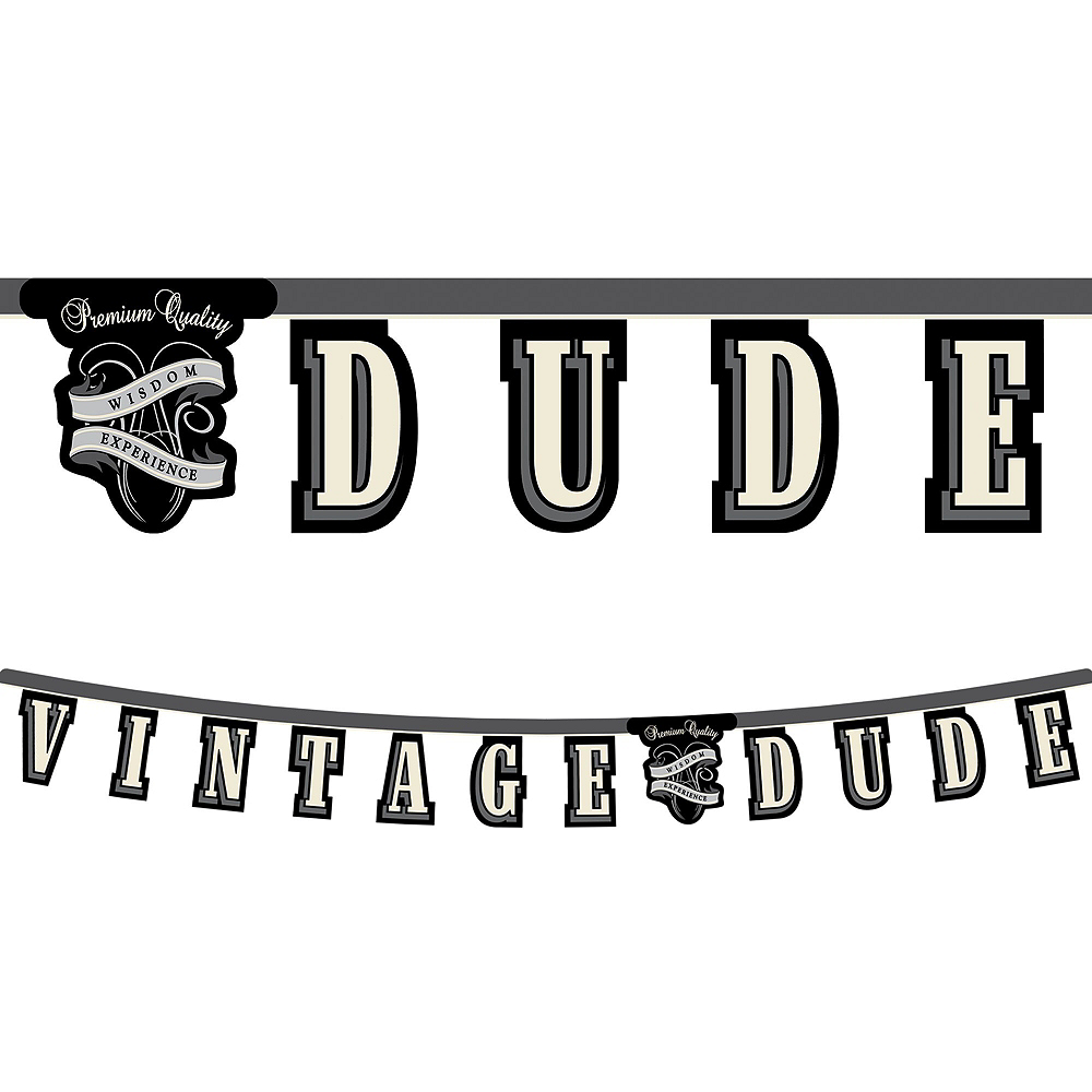 Vintage Dude Party Kit for 32 Guests Image #9