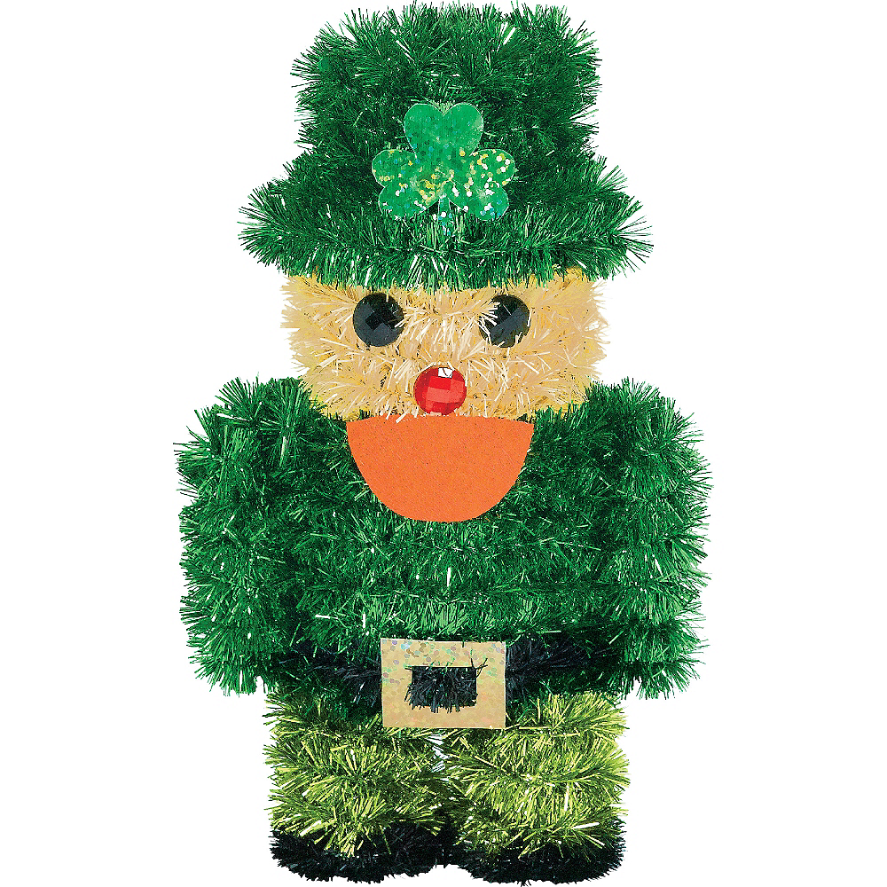 Nav Item for Hanging Tinsel Leprechaun Image #1