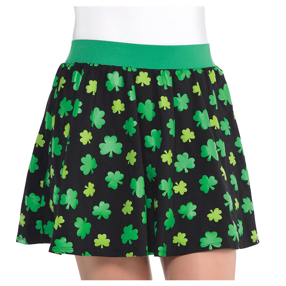 Black Shamrock Skirt Image #1
