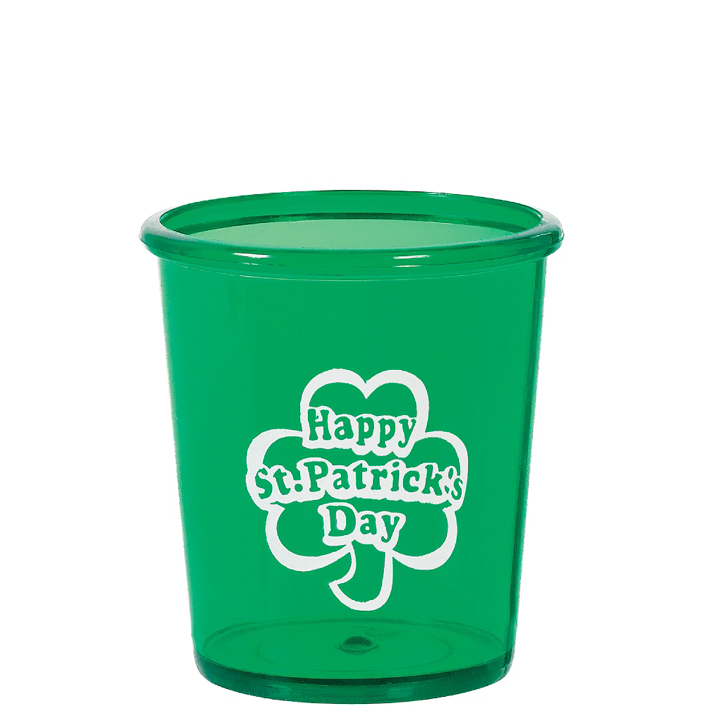 St. Patrick's Day Shot Glass Image #1