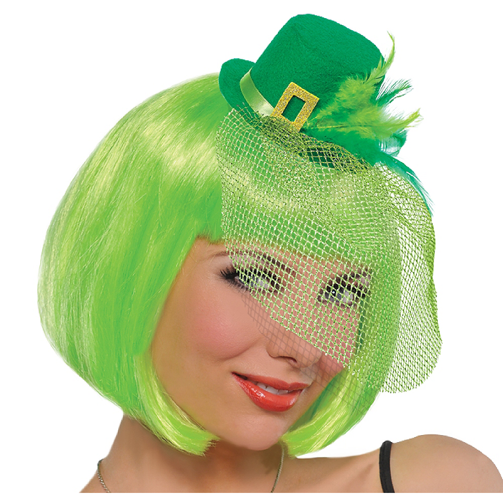 Clip-On Mini Leprechaun Hat Image #1