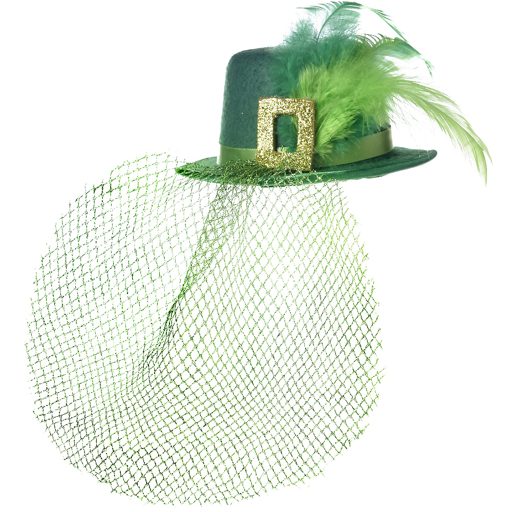 Clip-On Mini Leprechaun Hat Image #2