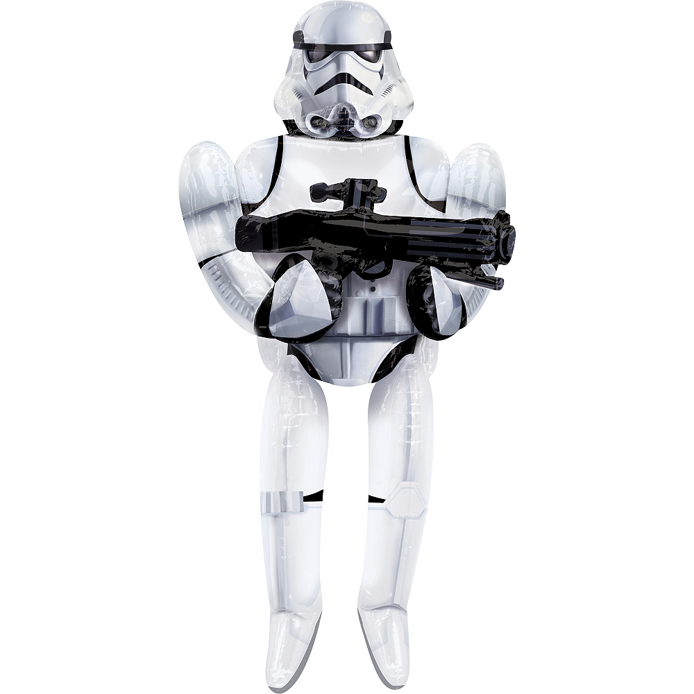 Stormtrooper Balloon - Star Wars 7 The Force Awakens Giant Gliding, 70in Image #2