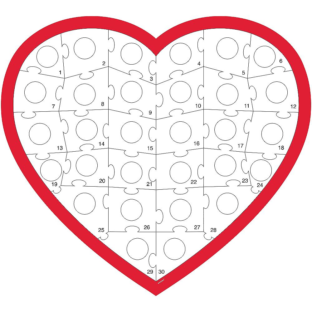 Heart Puzzle Activity Kit Image #2