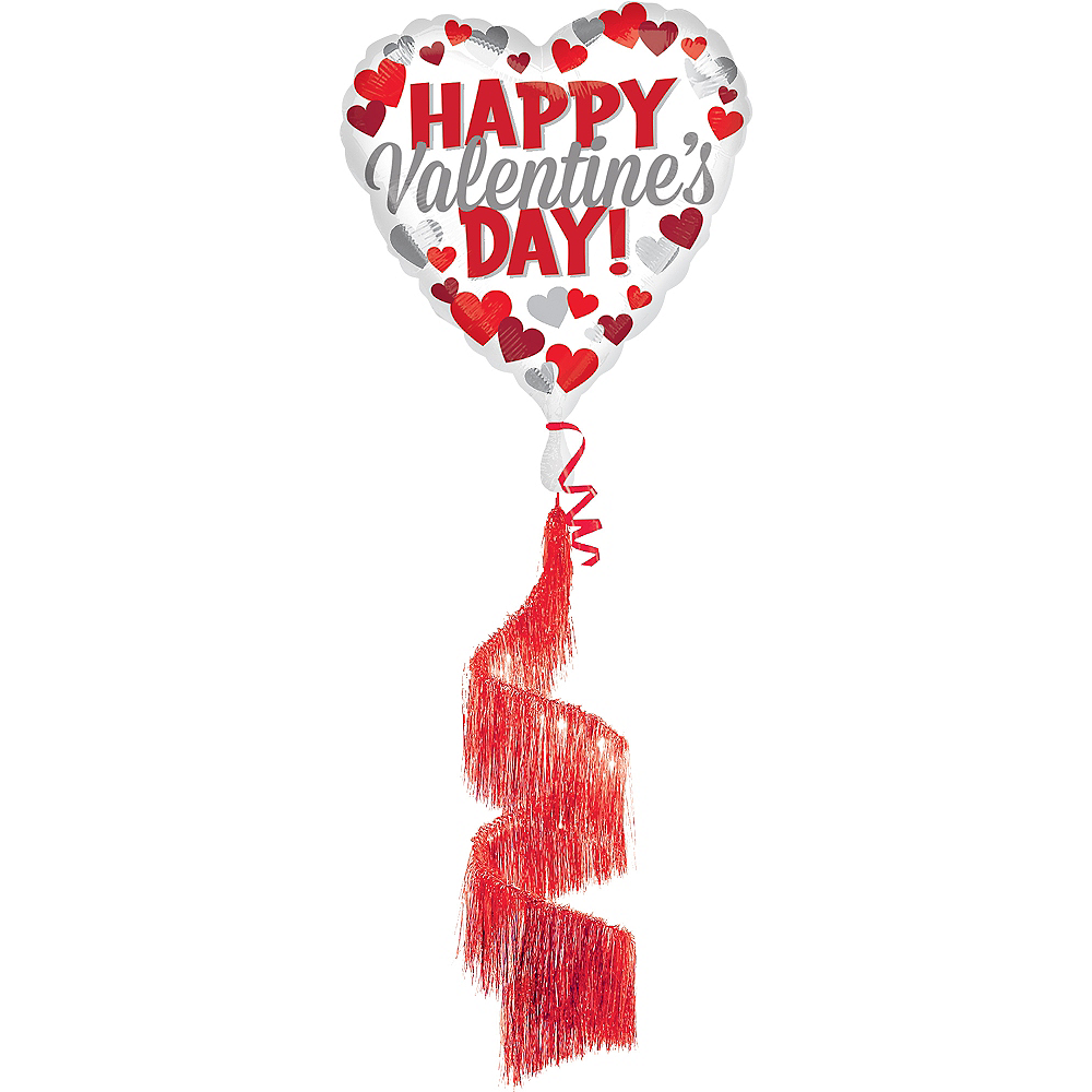 Happy Valentine's Day - Fringe Tail, 36in Image #1