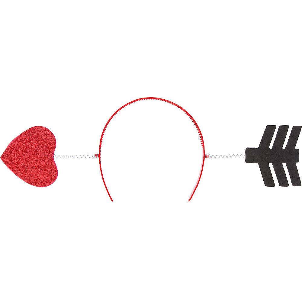 Glitter Heart & Arrow Head Bopper Image #1