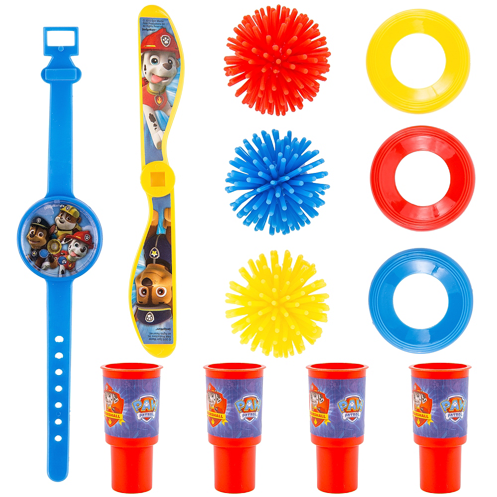 PAW Patrol Favor Pack 100pc Image #1