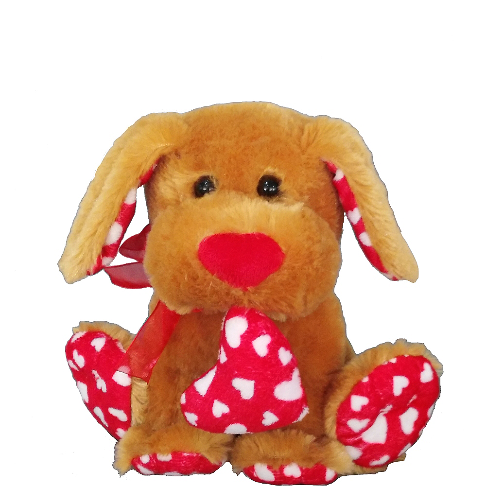 Nav Item for Brown Sweetie Dog Plush Image #1