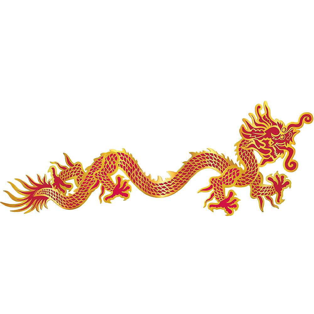 Chinese Dragon Jointed Banner Image #1
