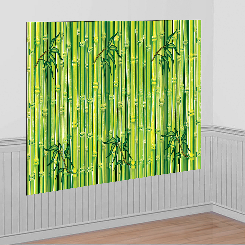 Green Bamboo Room Roll Image #1