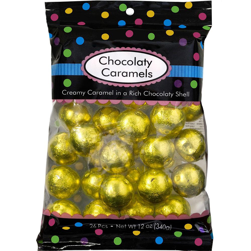 Yellow Caramel Balls 26pc Image #1