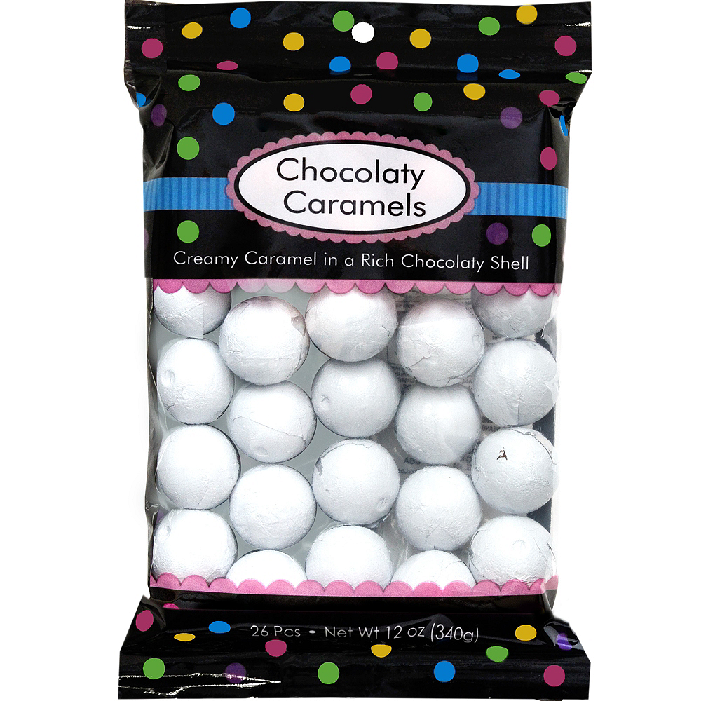 White Caramel Balls 26pc Image #1