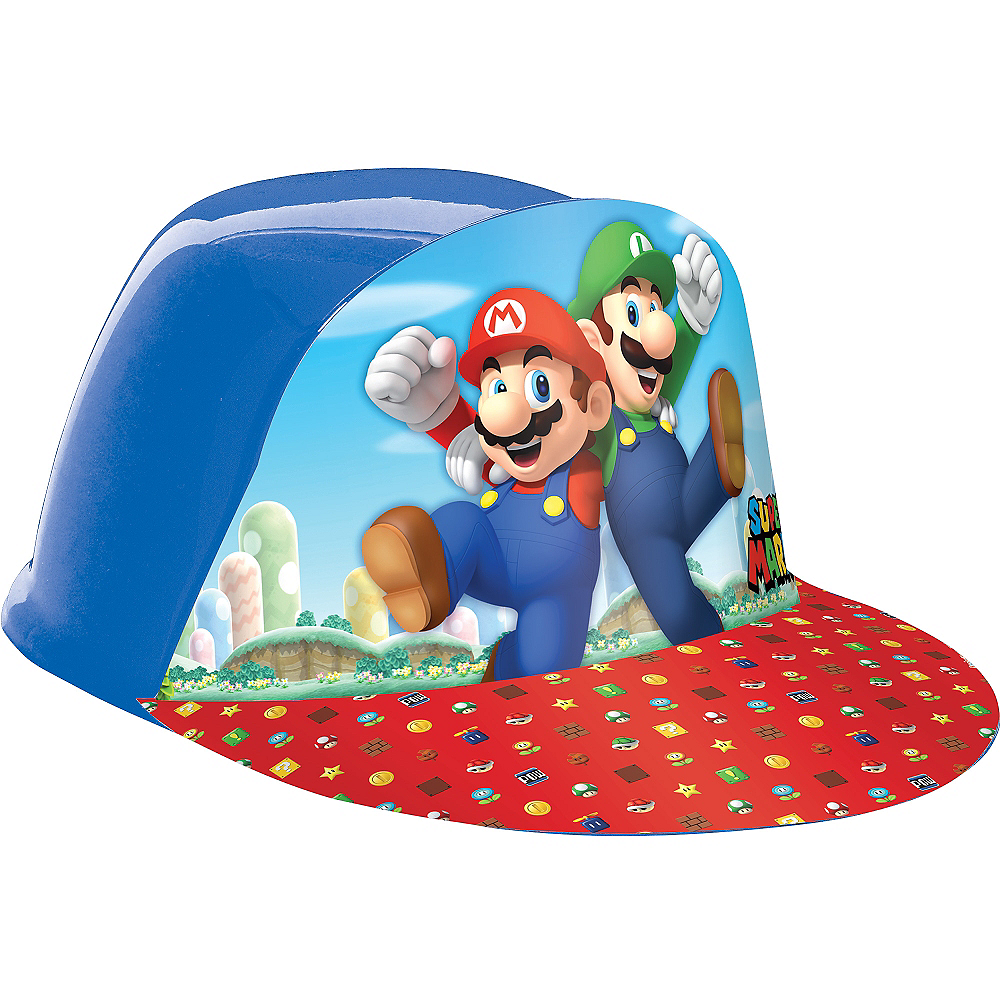 Nav Item for Super Mario Plastic Hat Image #1