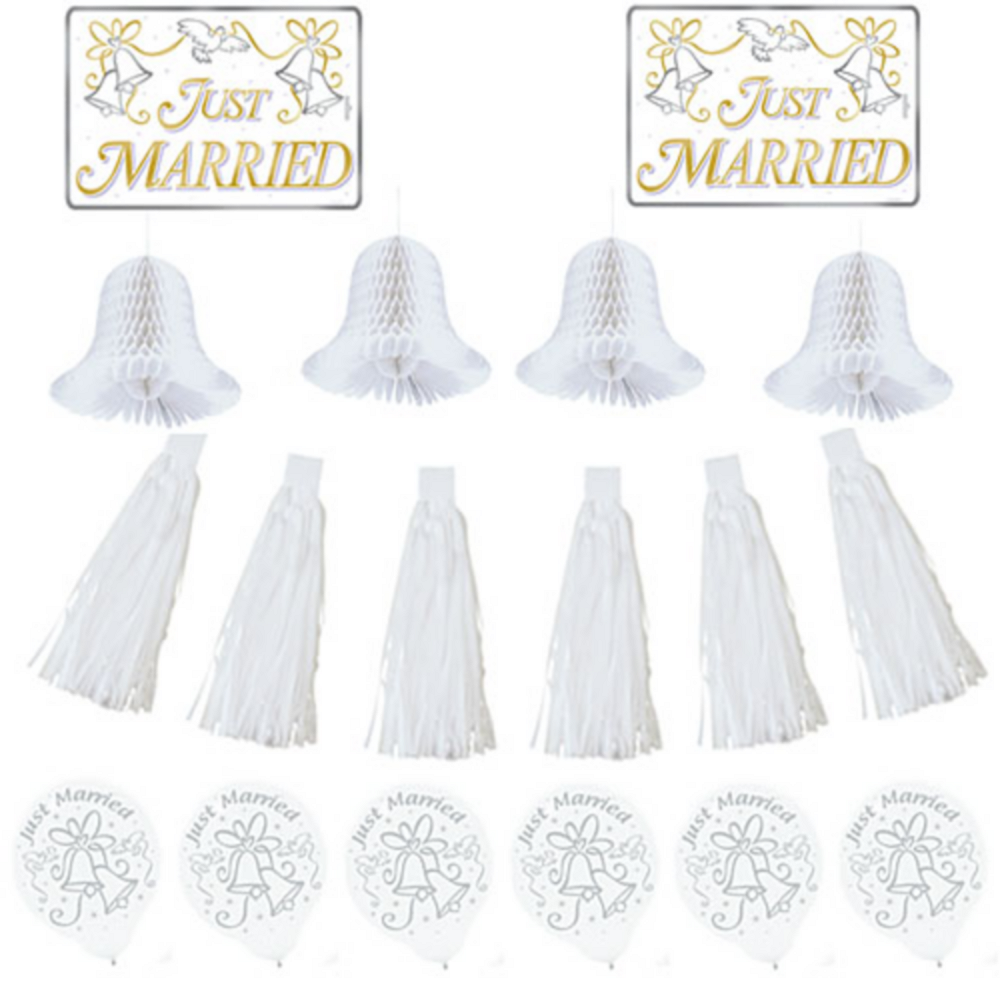 Wedding Car Decorating Kit Image #1