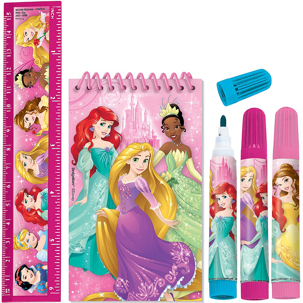 Disney Princess Stationery Set 5pc Image #1