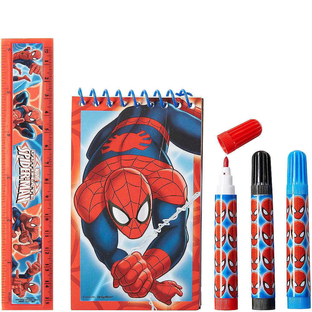 Spider-Man Stationery Set 5pc Image #1