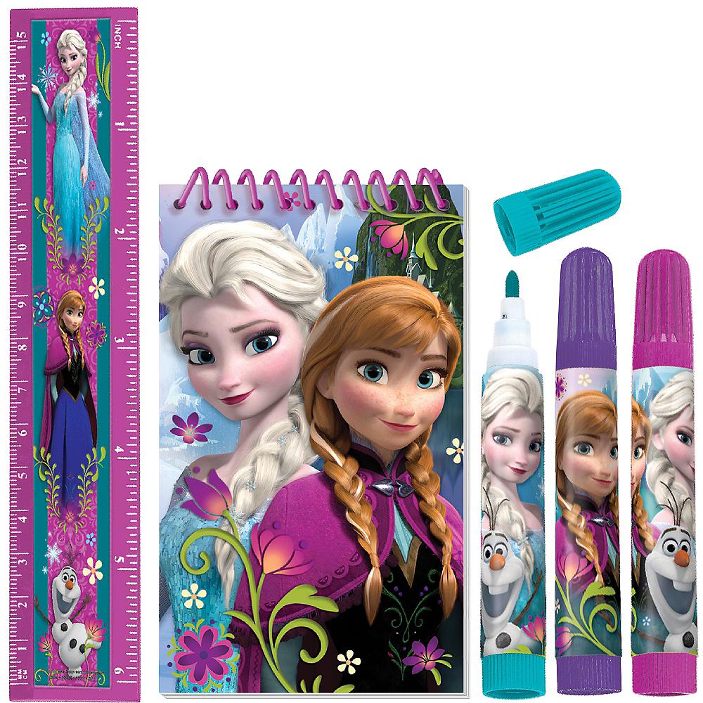 Frozen Stationery Set 5pc Image #1
