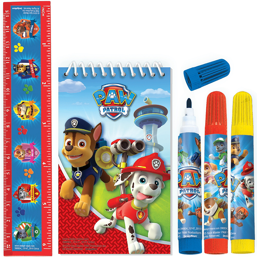 PAW Patrol Stationery Set 5pc Image #1