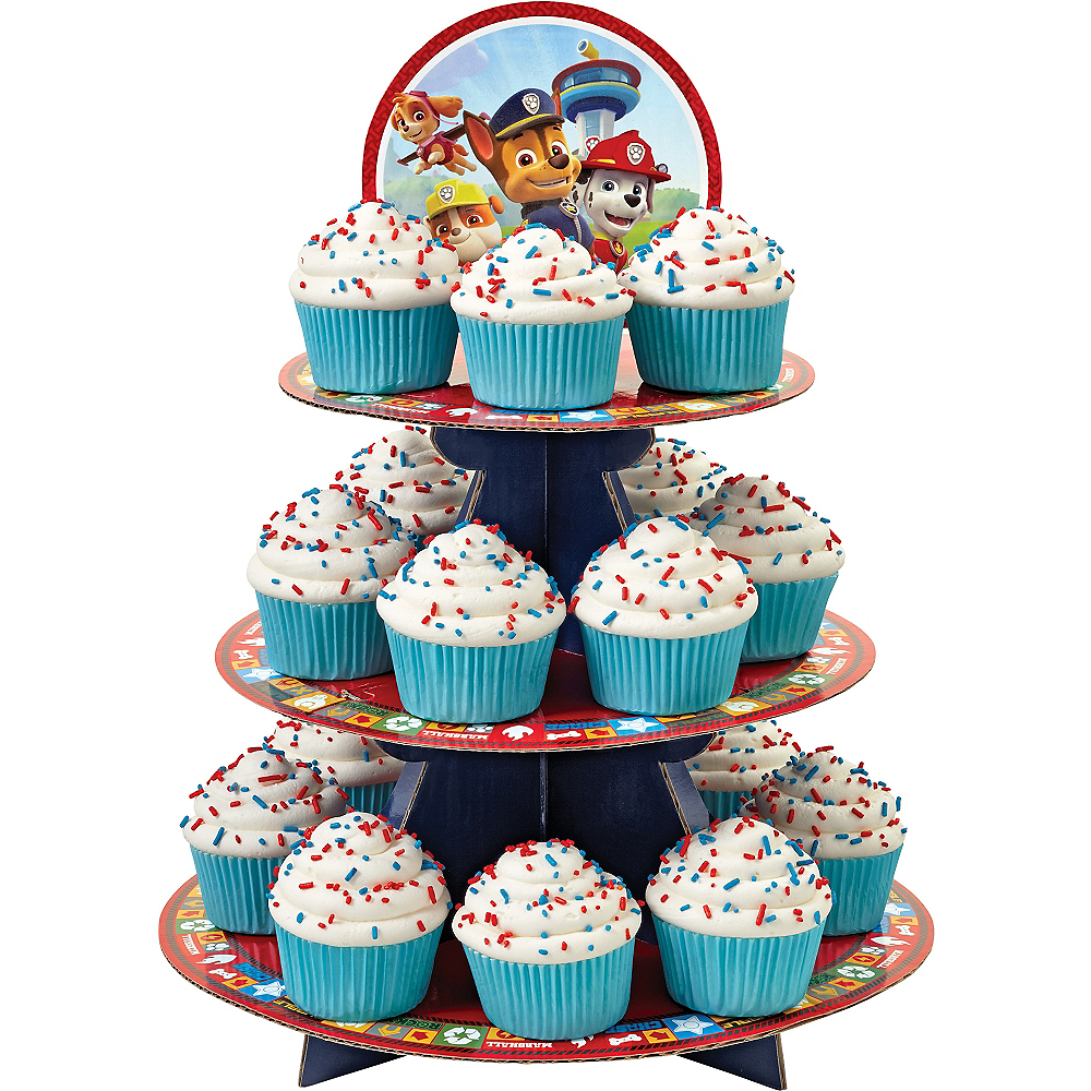 Wilton Paw Patrol Cupcake Stand 11 3 4in X 16in Party City