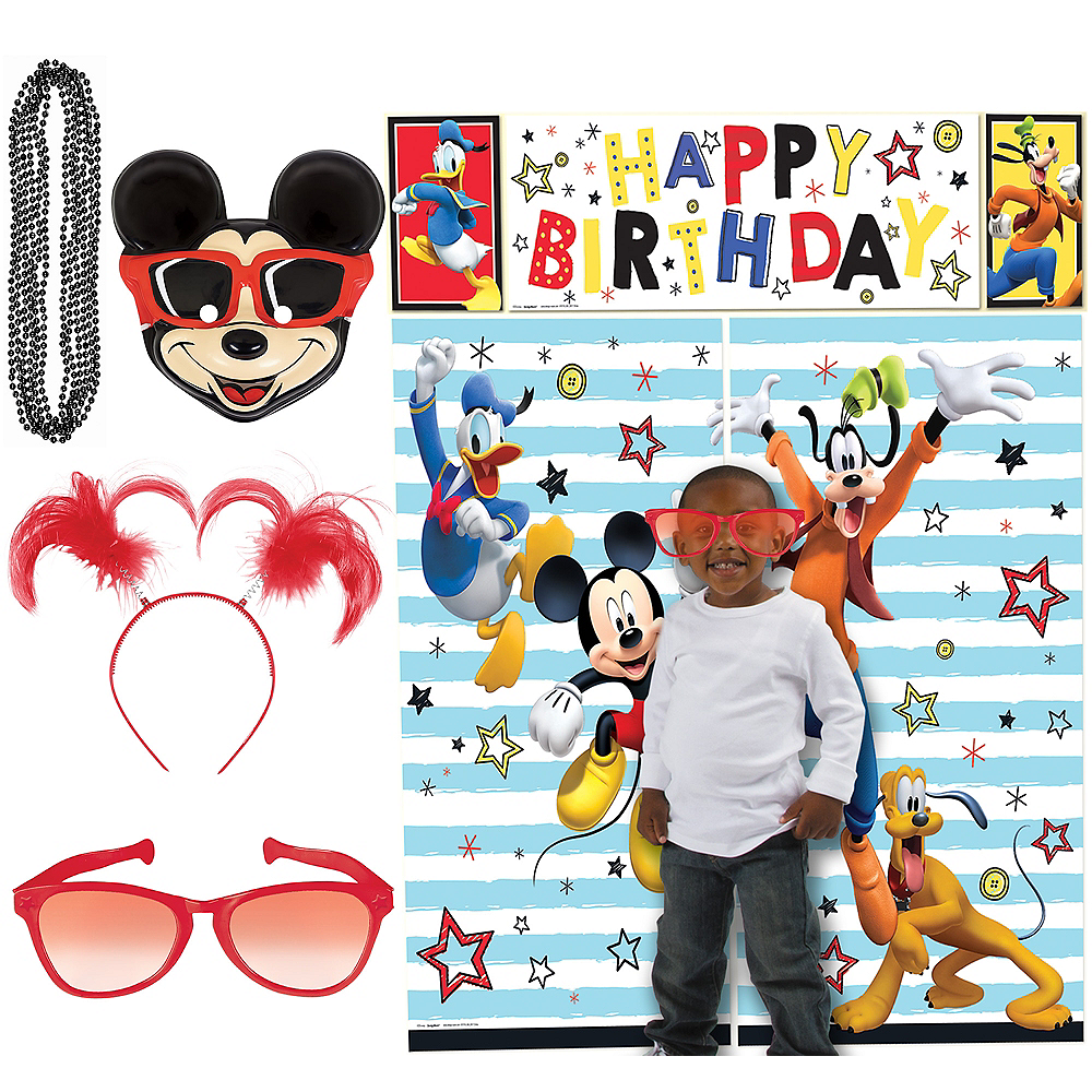 Mickey Mouse Photo Booth Kit Image #1
