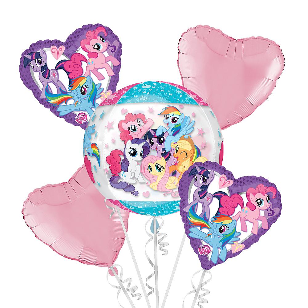 My Little Pony Balloon Bouquet 5pc - Orbz Image #1