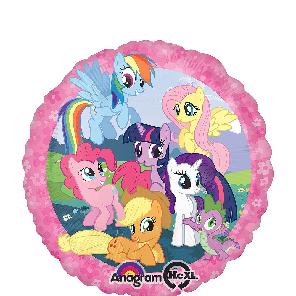 My Little Pony Balloon Bouquet 5pc - Orbz Image #3