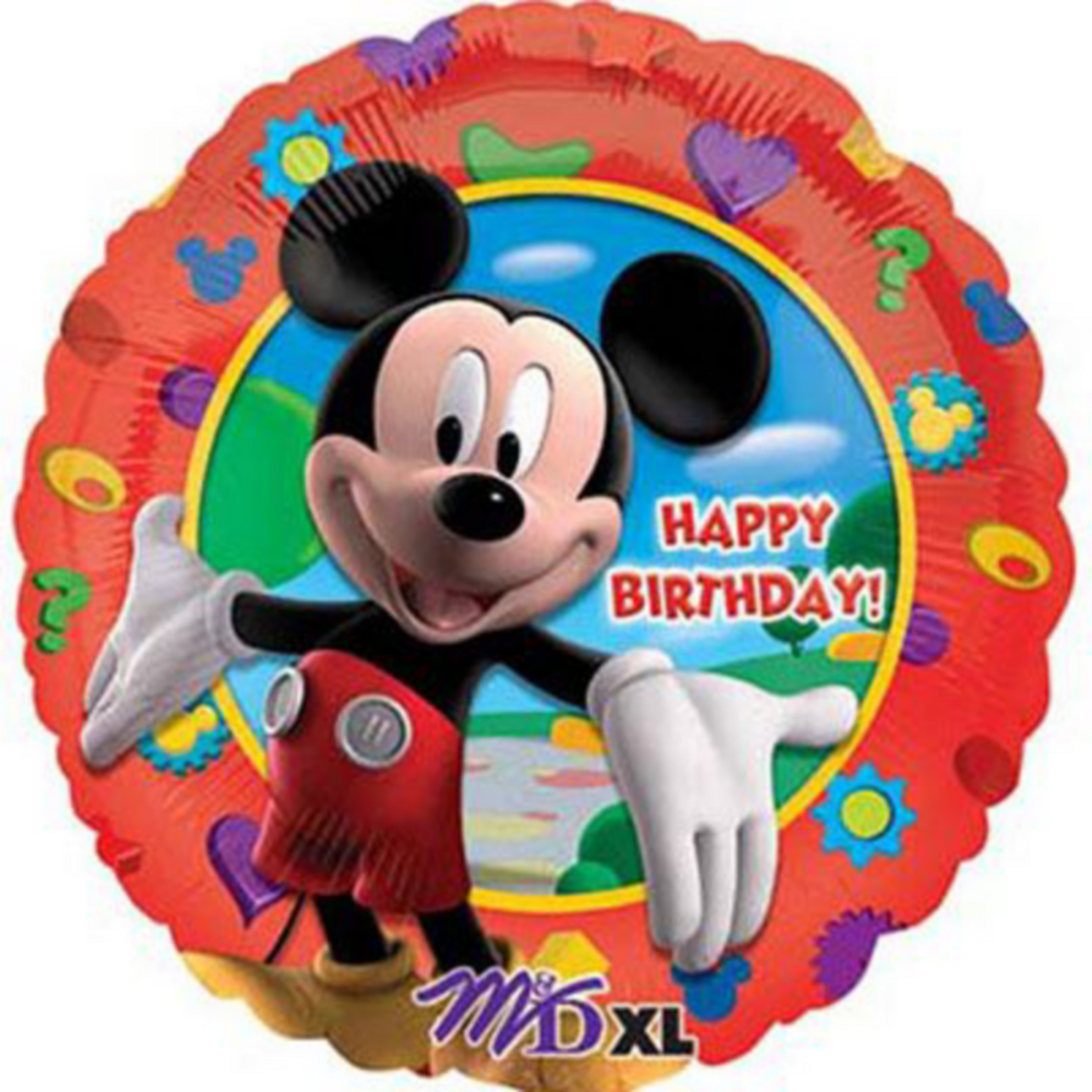 Mickey Mouse 2nd Birthday Balloon Bouquet 5pc Image #2