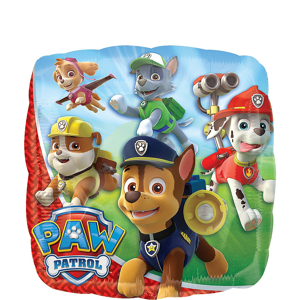 Nav Item for PAW Patrol 4th Birthday Balloon Bouquet 5pc Image #4