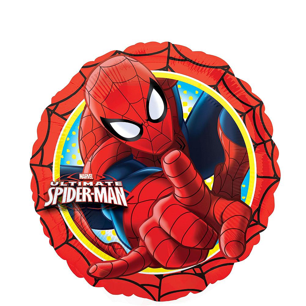 Spider-Man 2nd Birthday Balloon Bouquet 5pc Image #3