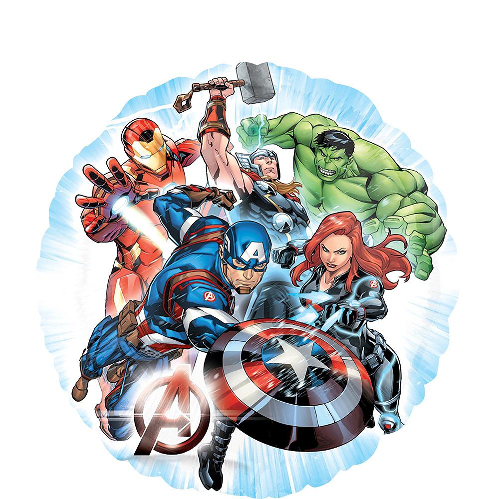 Avengers 1st Birthday Balloon Bouquet 5pc Image #4