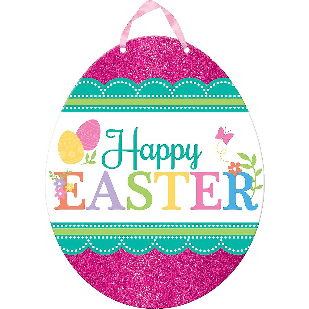 Glitter Egg-citing Easter Sign Image #1
