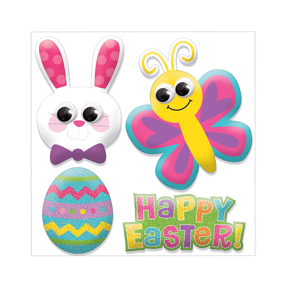 Easter Puffy Stickers 1 Sheet Image #1