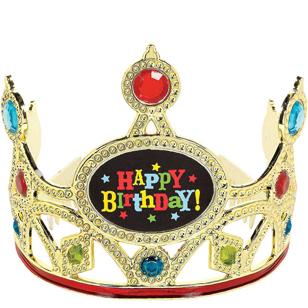 Bright Gem Happy Birthday Tiara Image #1