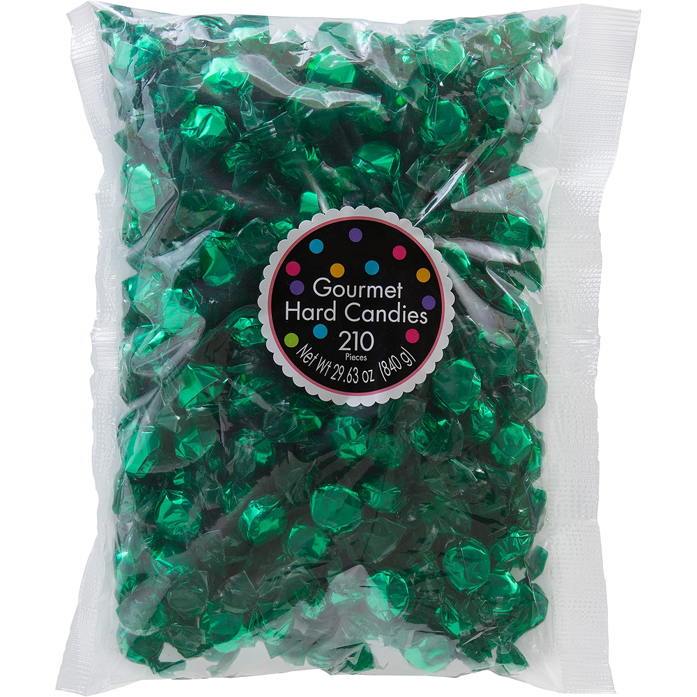 Green Hard Candies 210pc Image #1