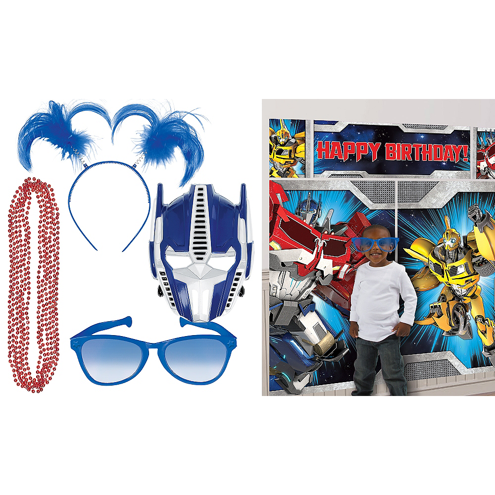Transformers Photo Booth Kit Image #1