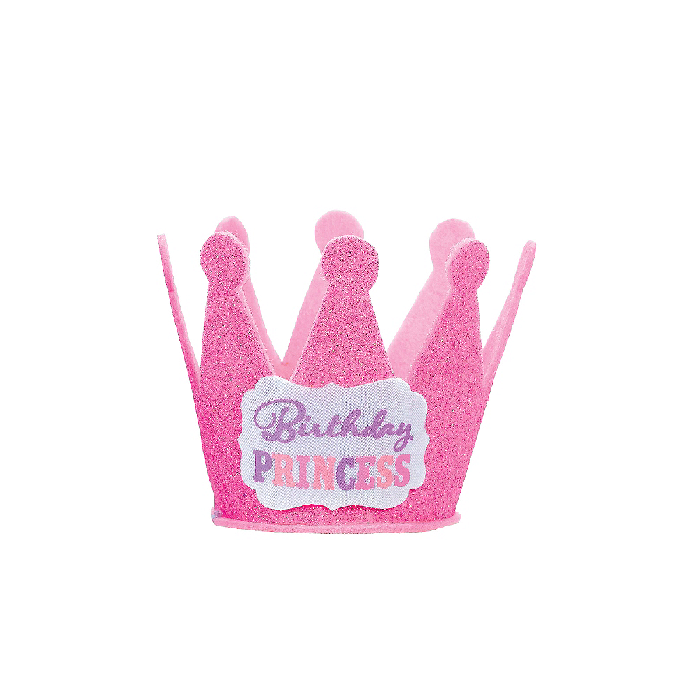 Pink Birthday Princess Mini Crown Image #2