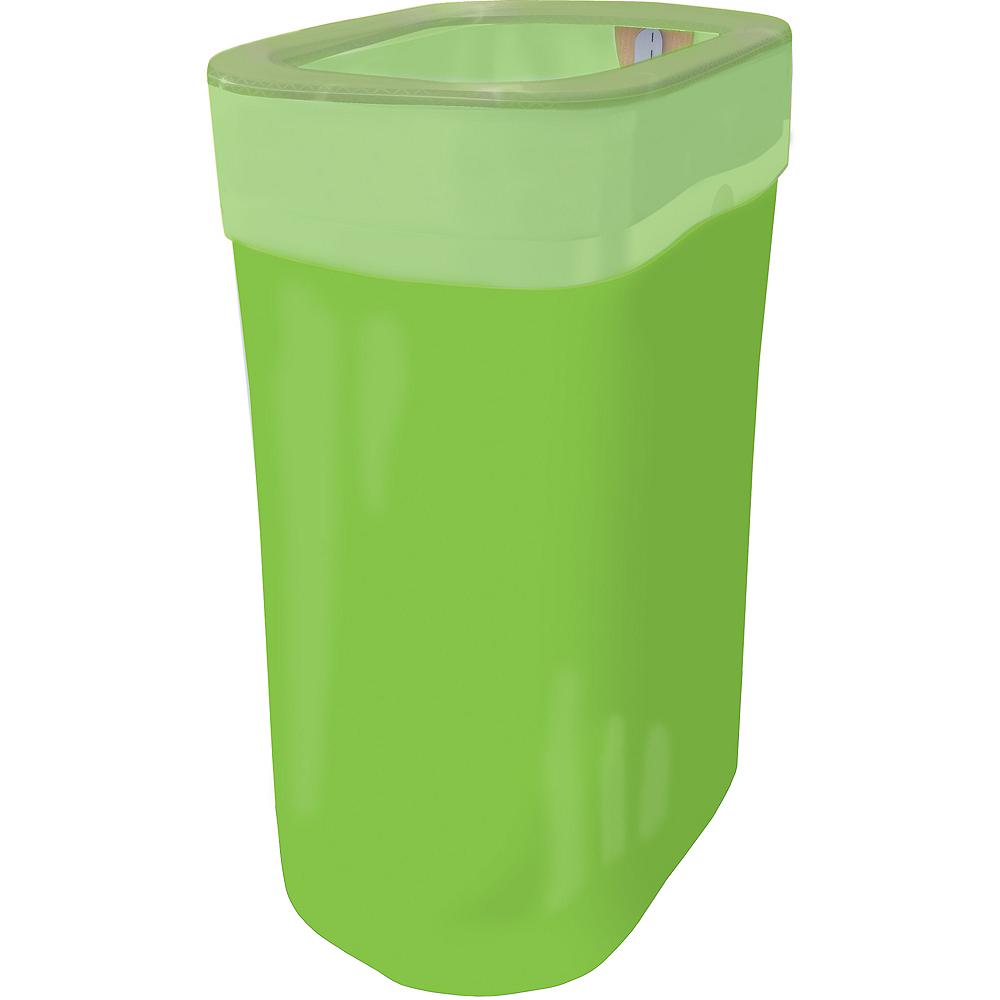 Kiwi Green Pop-Up Trash Bin Image #1