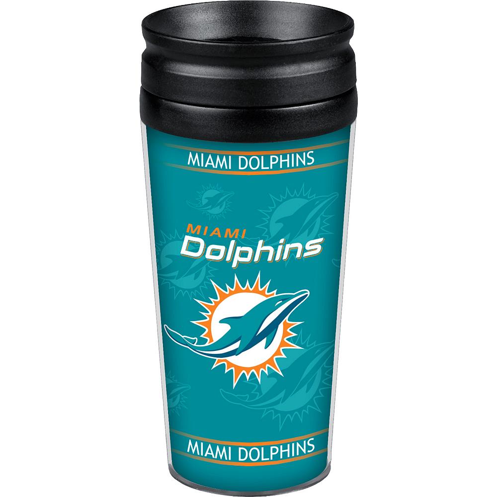 Miami Dolphins Travel Mug Image #1