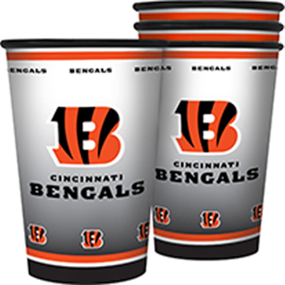 Cincinnati Bengals Tumblers 4ct Image #1