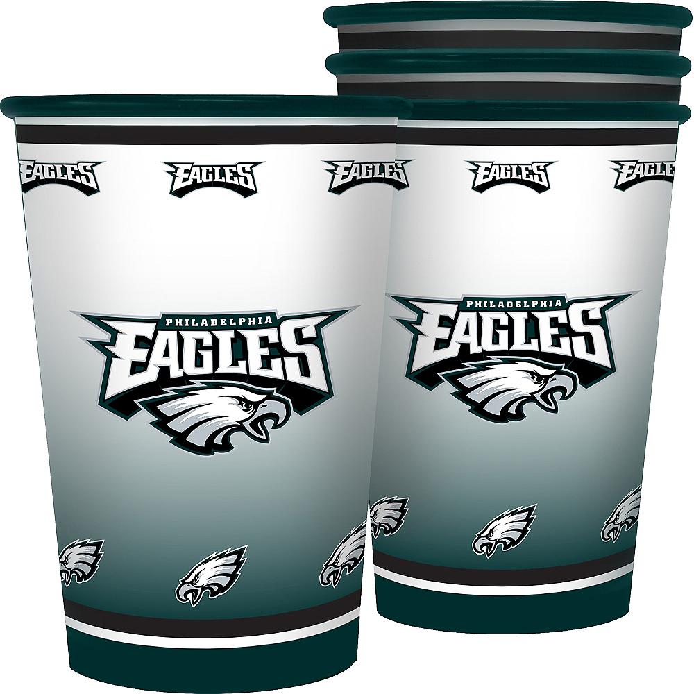 Philadelphia Eagles Tumblers 4ct Image #1
