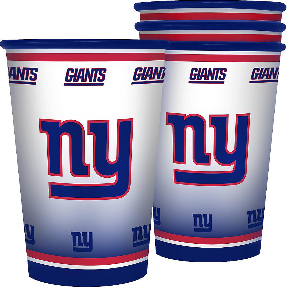 New York Giants Tumblers 4ct Image #1