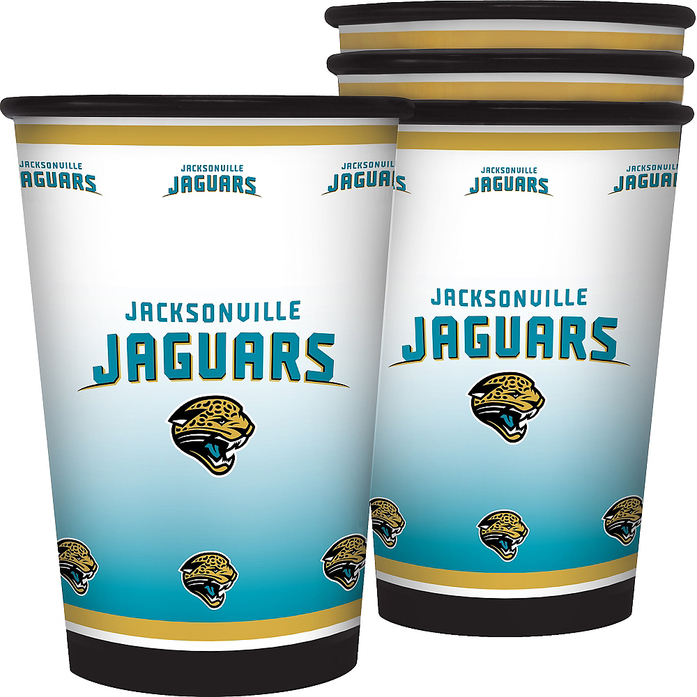 Jacksonville Jaguars Tumblers 4ct Image #1