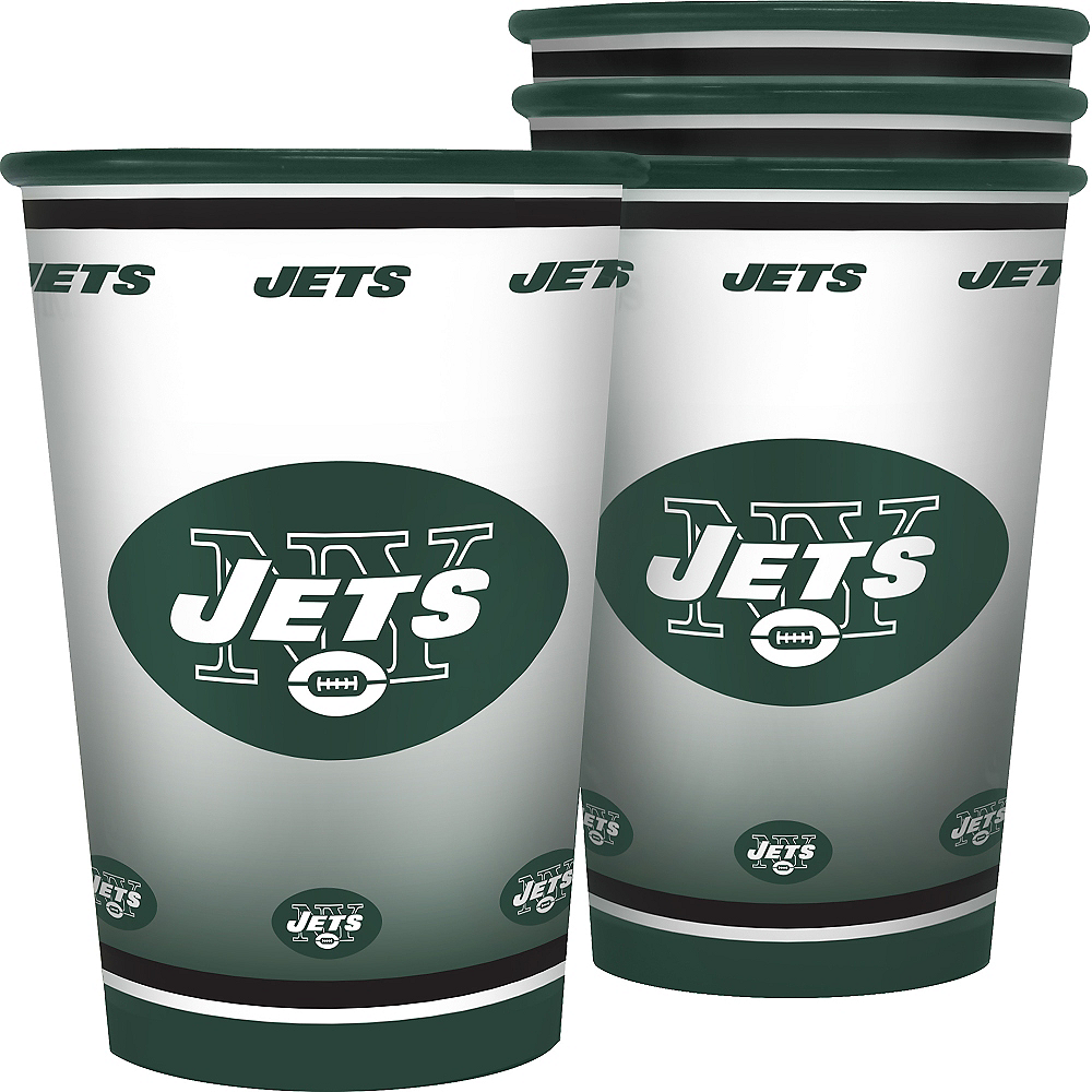 New York Jets Tumblers 4ct Image #1