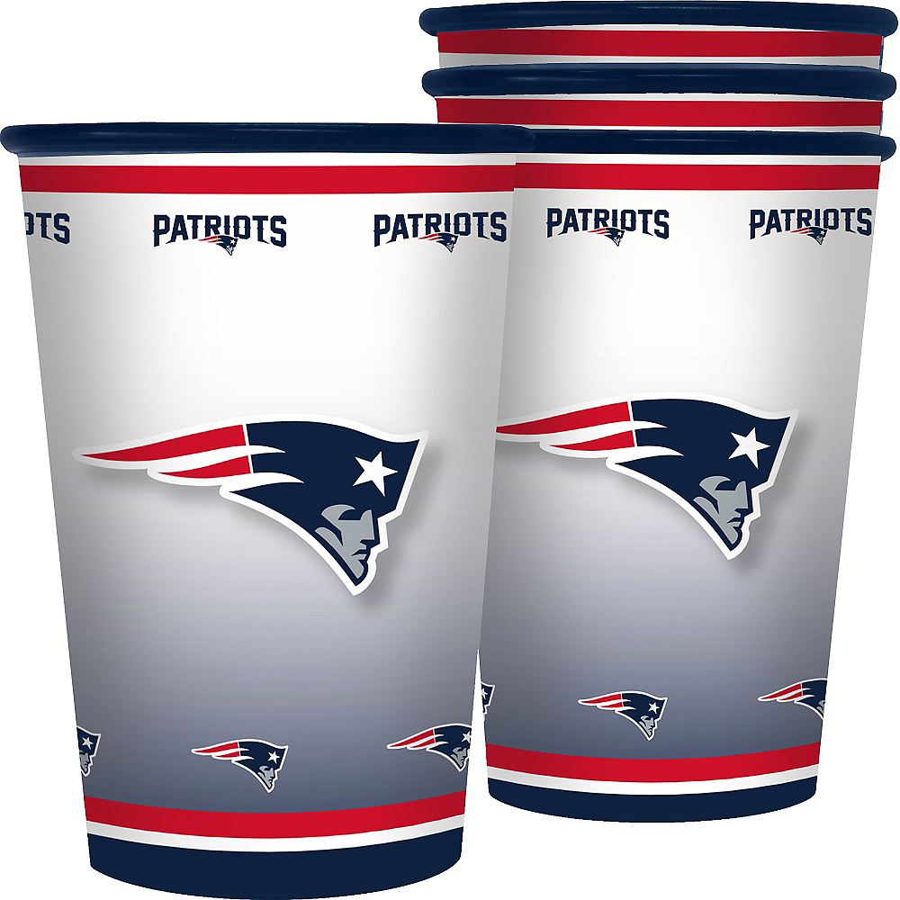 New England Patriots Tumblers 4ct Image #1