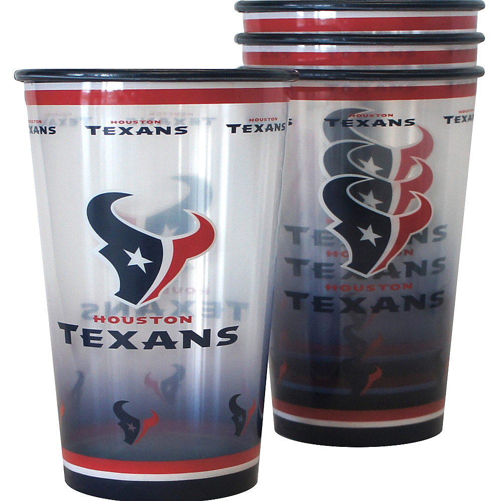Houston Texans Tumblers 4ct Image #1